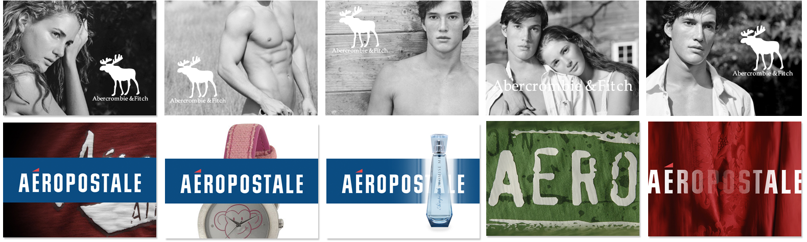 ABERCROMBIE & FITCH AEROPOSTALE